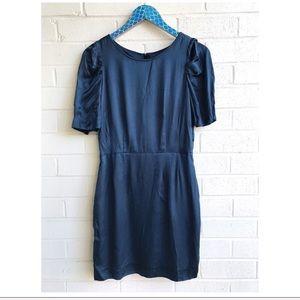 Madewell Broadway & Broome Puff Sleeve Mini Dress